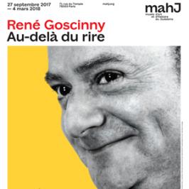 """Photos de l'exposition """"René Goscinny. Au-delà du rire"""" au Musée d'Art et d'Histoire du Judaïsme"""