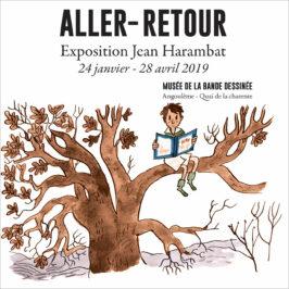 Jean Harambat, prix René Goscinny 2018, s'expose au musée de la bande dessinée d'Angoulême.