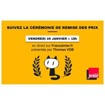 Cérémonie de remise des prix du Festival d'Angoulême 2021