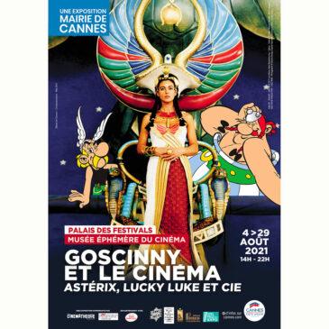 Dans le célèbre Palais des Festivals, Cannes rend hommage à Goscinny